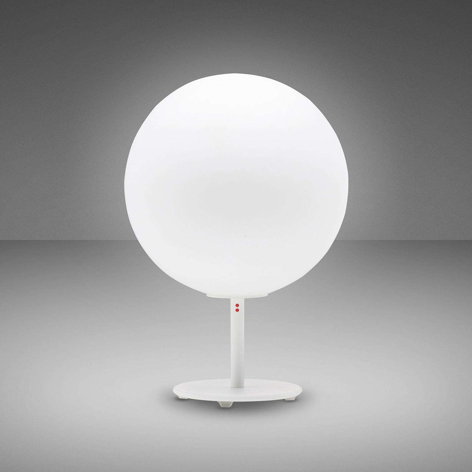 Fabbian Lumi Sfera tafellamp, staand, Ø 20 cm