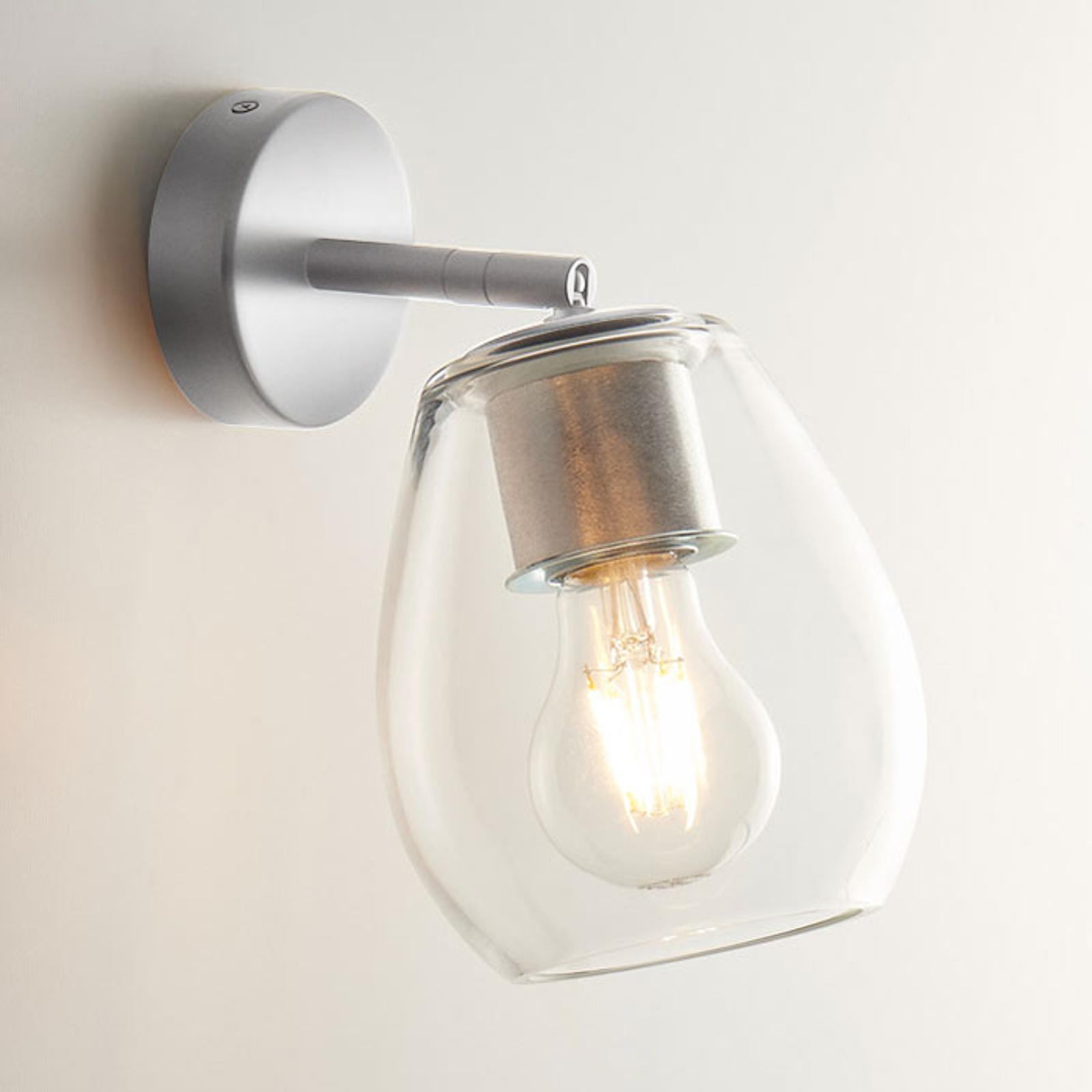 Casablanca Bagan - beweegbare wandlamp, helder