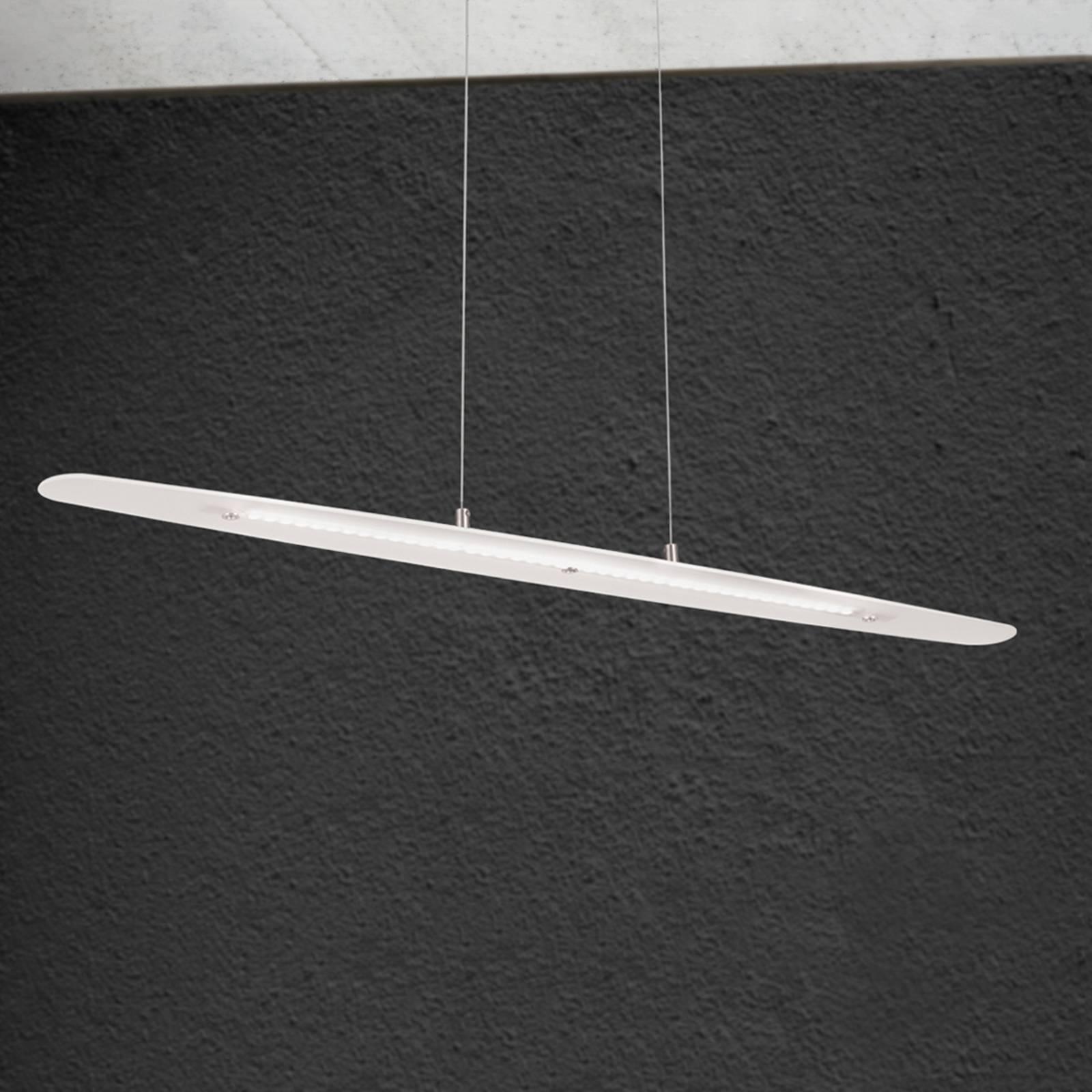 Längliche LED-Hängeleuchte Sabira