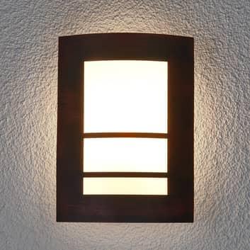 Aplique para exterioresKatalea color marrón óxido