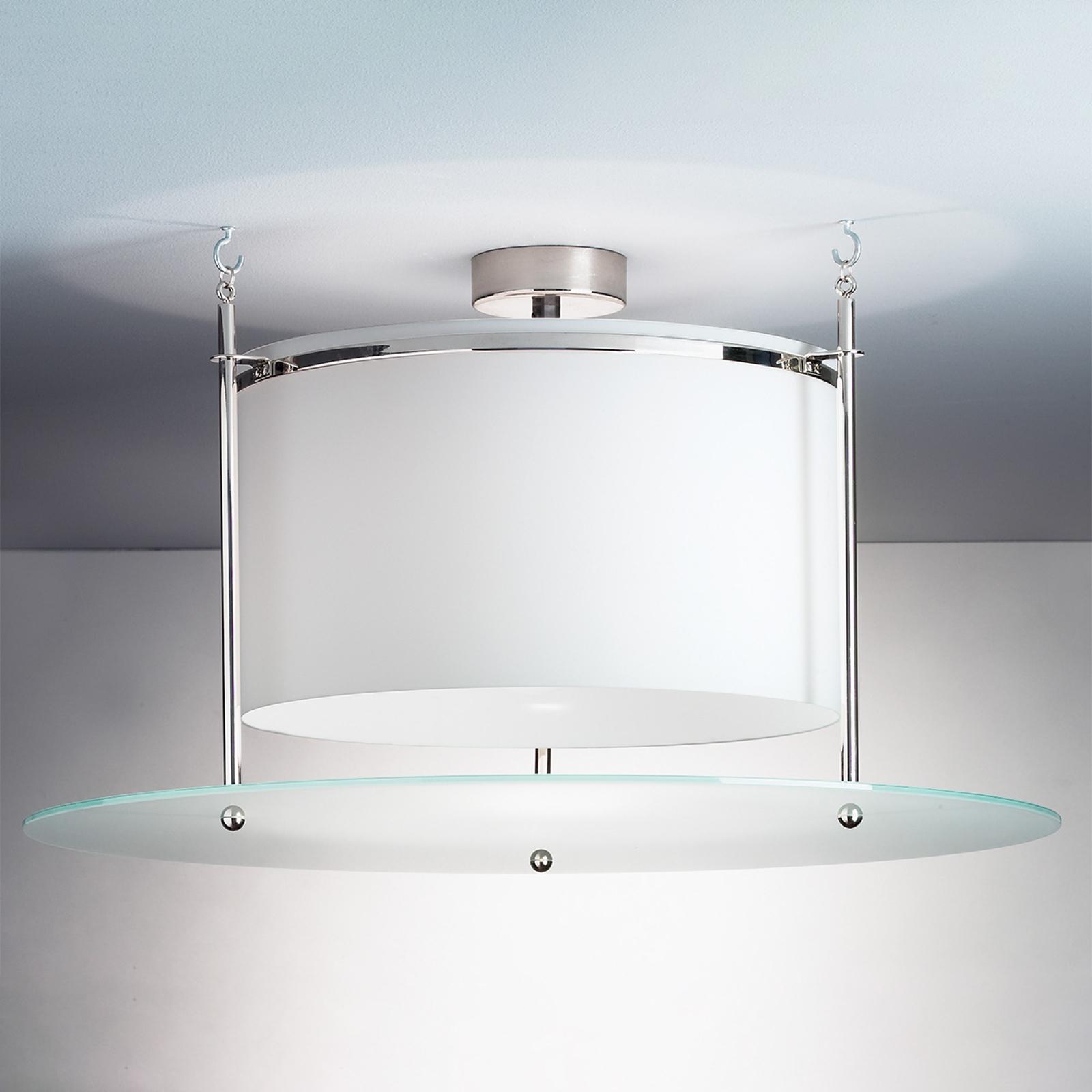 TECNOLUMEN DMB 30 - szklana lampa sufitowa