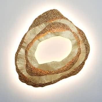 LED-Wandleuchte Coral, organisch geformt
