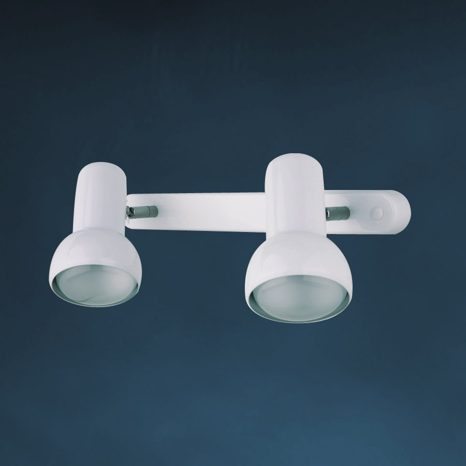 EIFEL væglampe i retro-design, 2 lyskilder