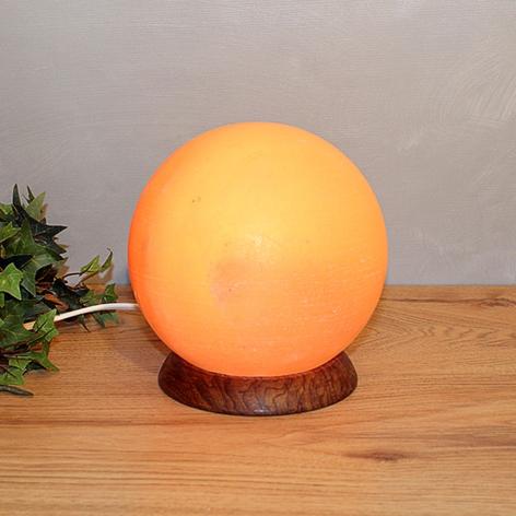 Lámpara de sal PLANETO con forma esférica