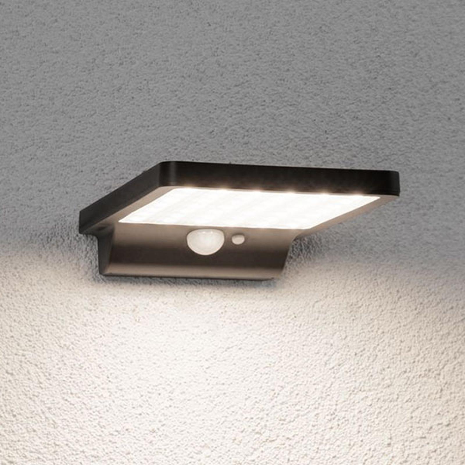 Paulmann Solveig solarna lampa ścienna LED czujnik