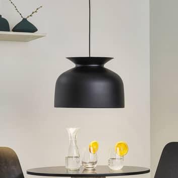 GUBI Ronde lampa wisząca Ø 40 cm, czarna