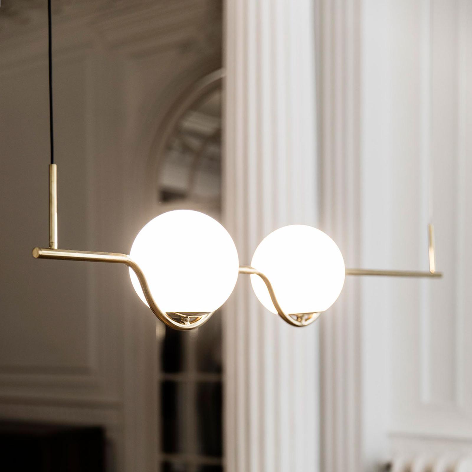 Designer-Pendelleuchte Le Vita, LED 2-flammig