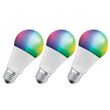 LEDVANCE SMART+ WiFi E27 14W Classic RGBW 3x