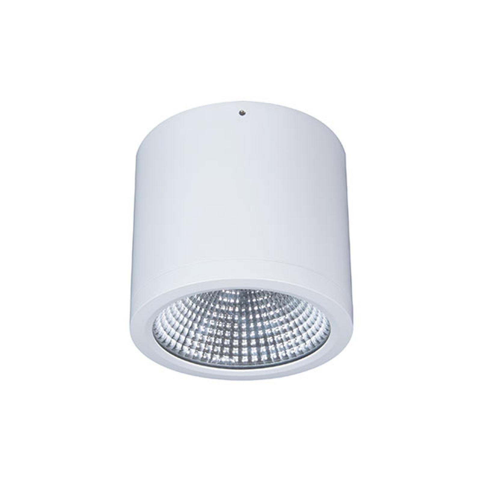 Faretto LED plafone Button Mini 200 IP54 55° 24 W