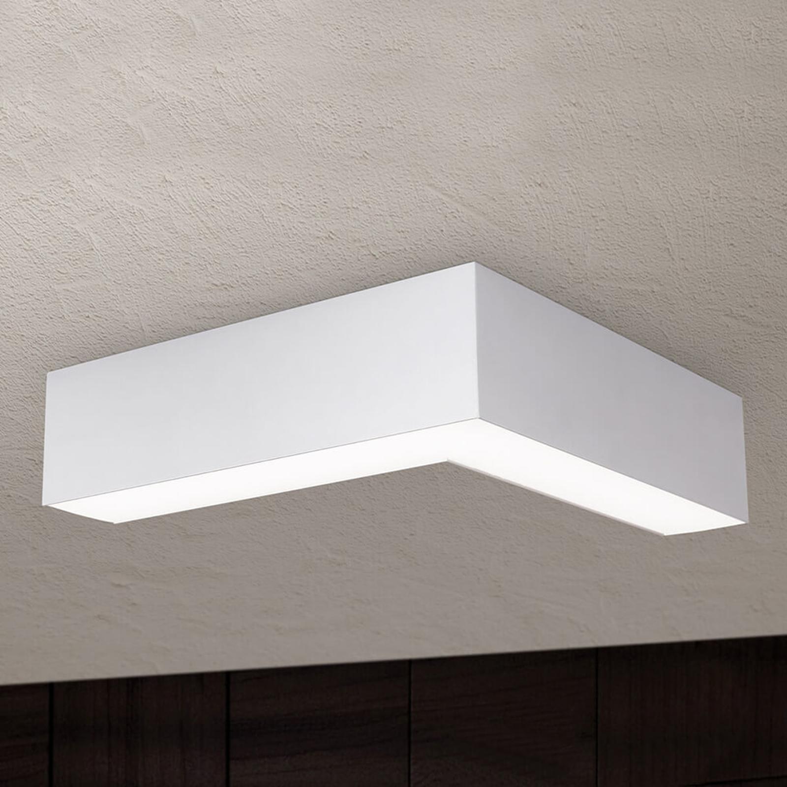LED-Deckenleuchte Sando mit Aufhängeset, 30x30 cm