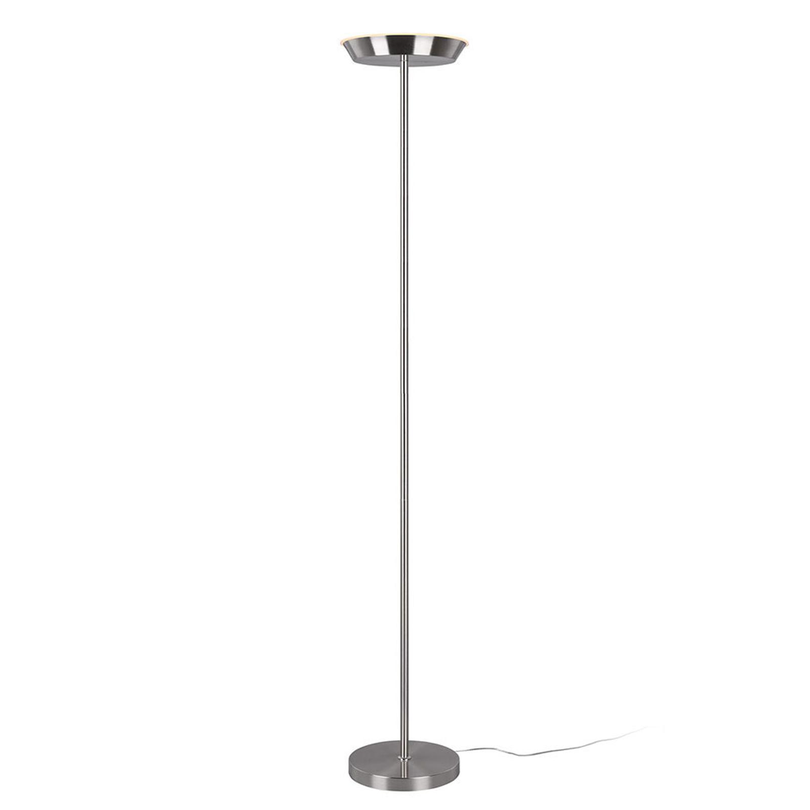 LED uplighter Swona, WiZ, nikkel mat