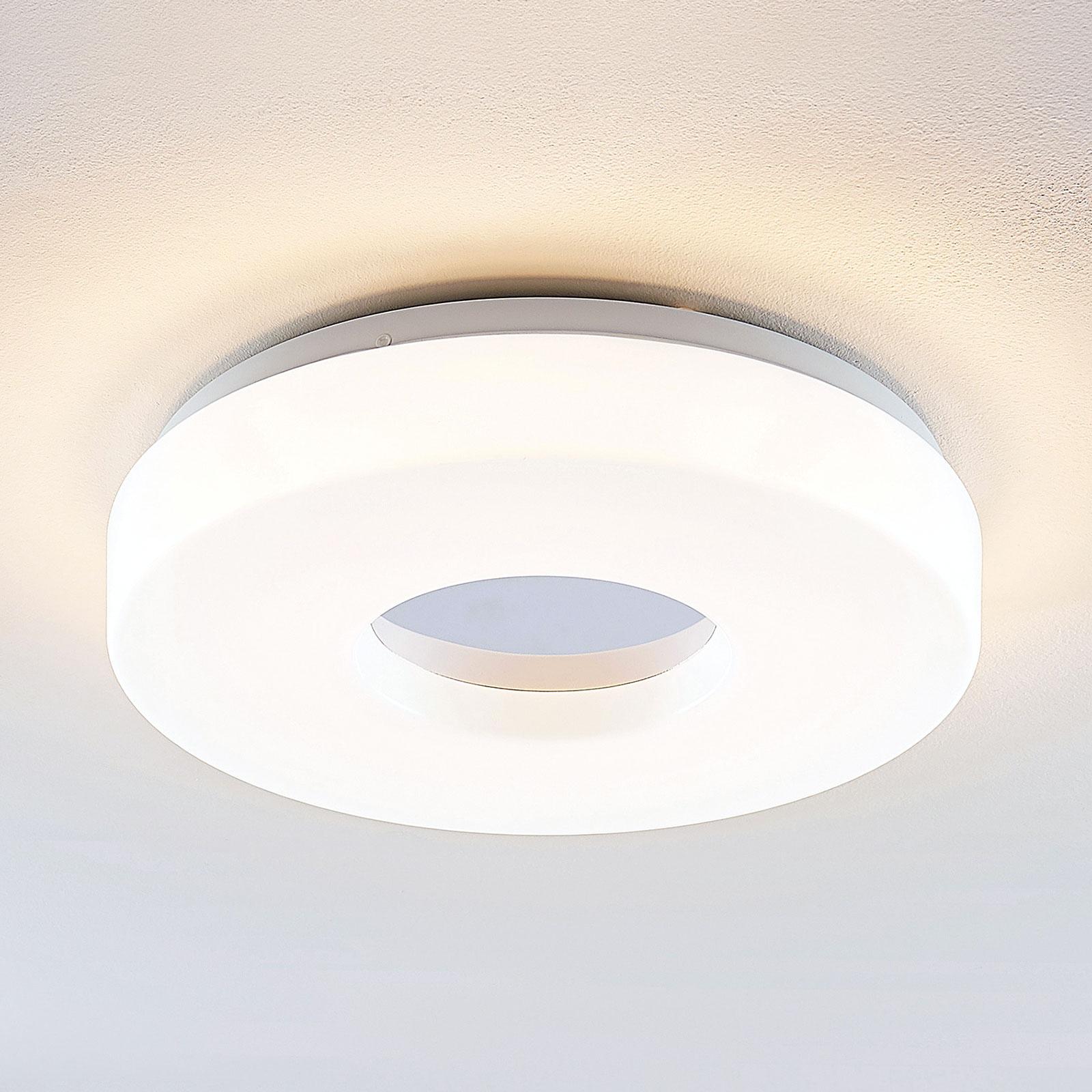 Lindby Florentina LED plafondlamp, ring, 34,5 cm