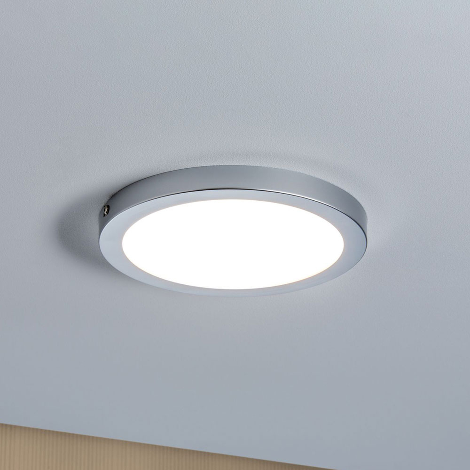 Paulmann Atria lampa sufitowa LED Ø 22cm chrom