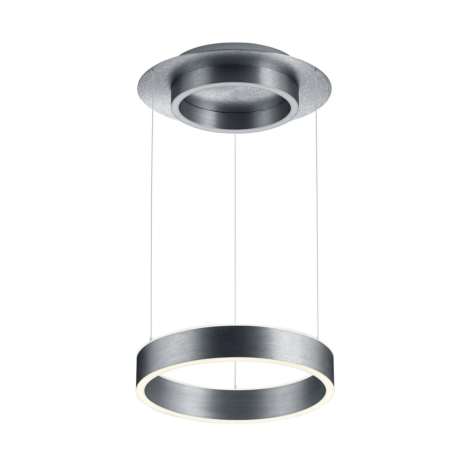 B-Leuchten Delta hanglamp 35cm, antraciet