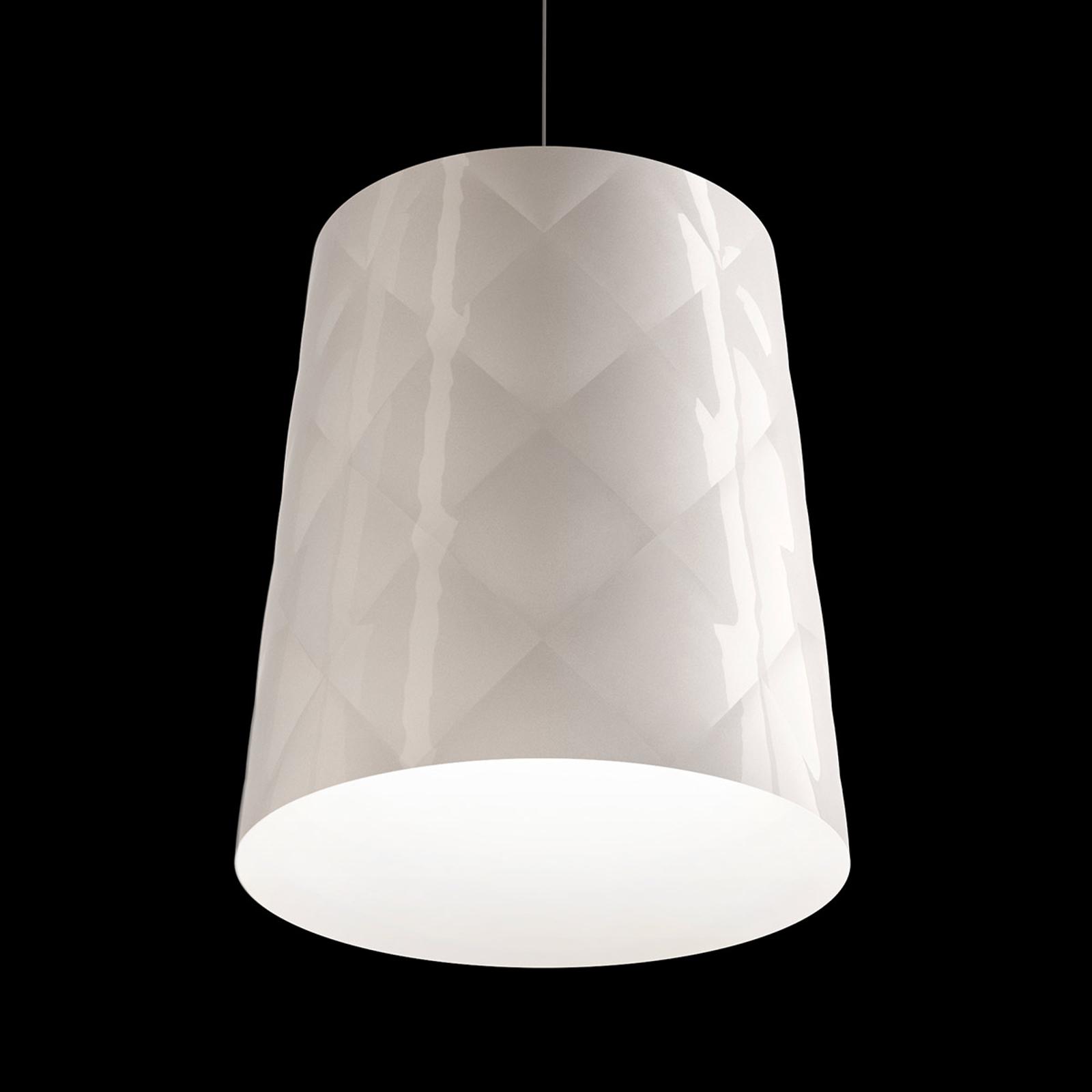 Kundalini New York lampa wisząca, Ø 33 cm, biała