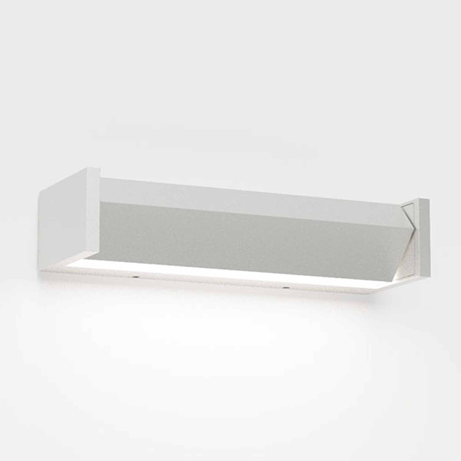 IP44.de Slat One LED buitenwandlamp, wit