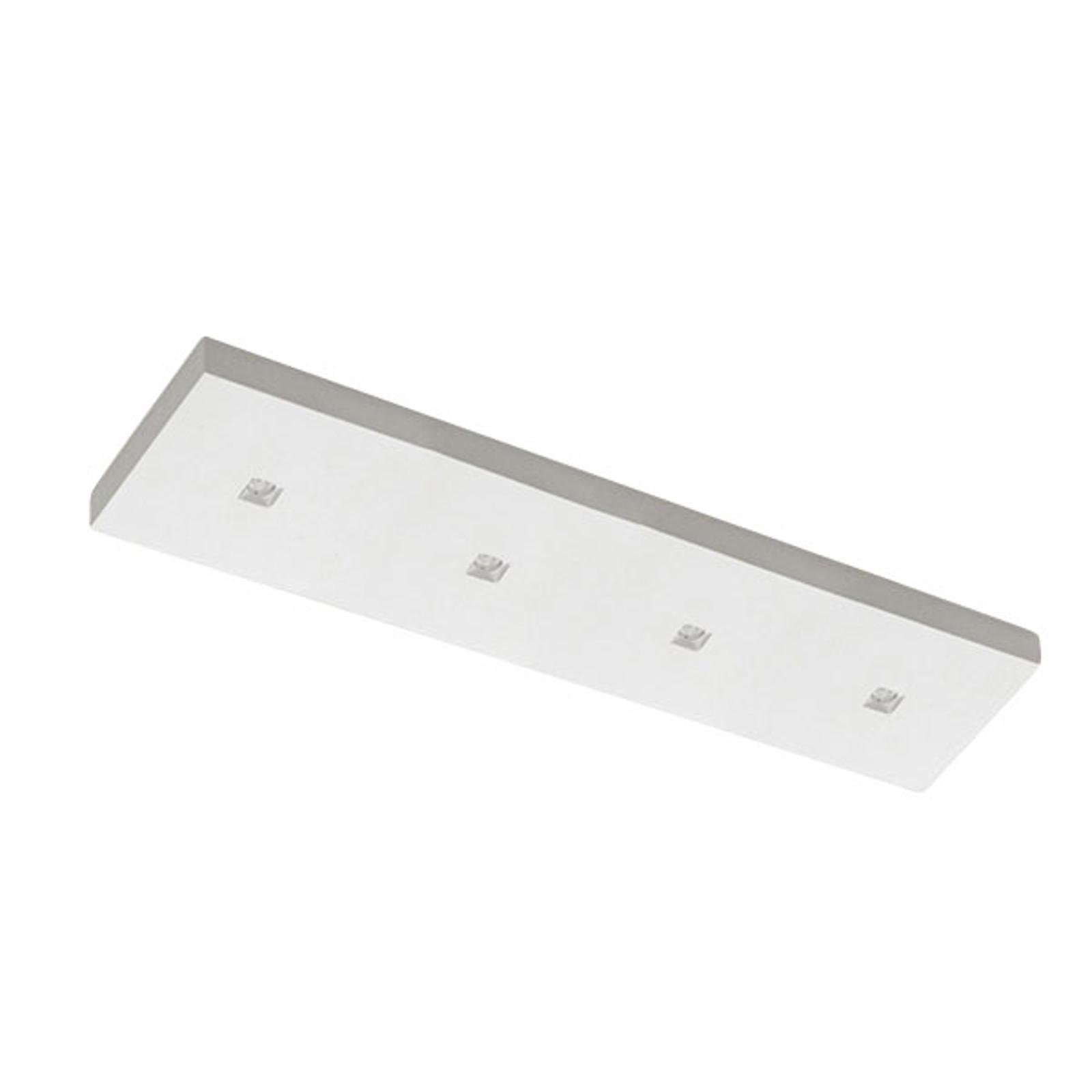 LED-Deckenleuchte 8914D, 4-flg., 2.700 K, dimmbar