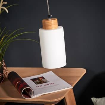 Závěsné světlo Bosco dub olejovaný 1zdrojové