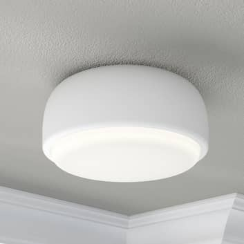 Biała designerska lampa sufitowa Over Me