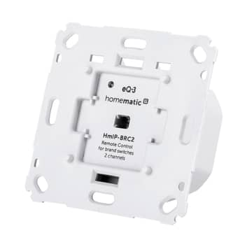 Homematic IP interruptor de pared, doble