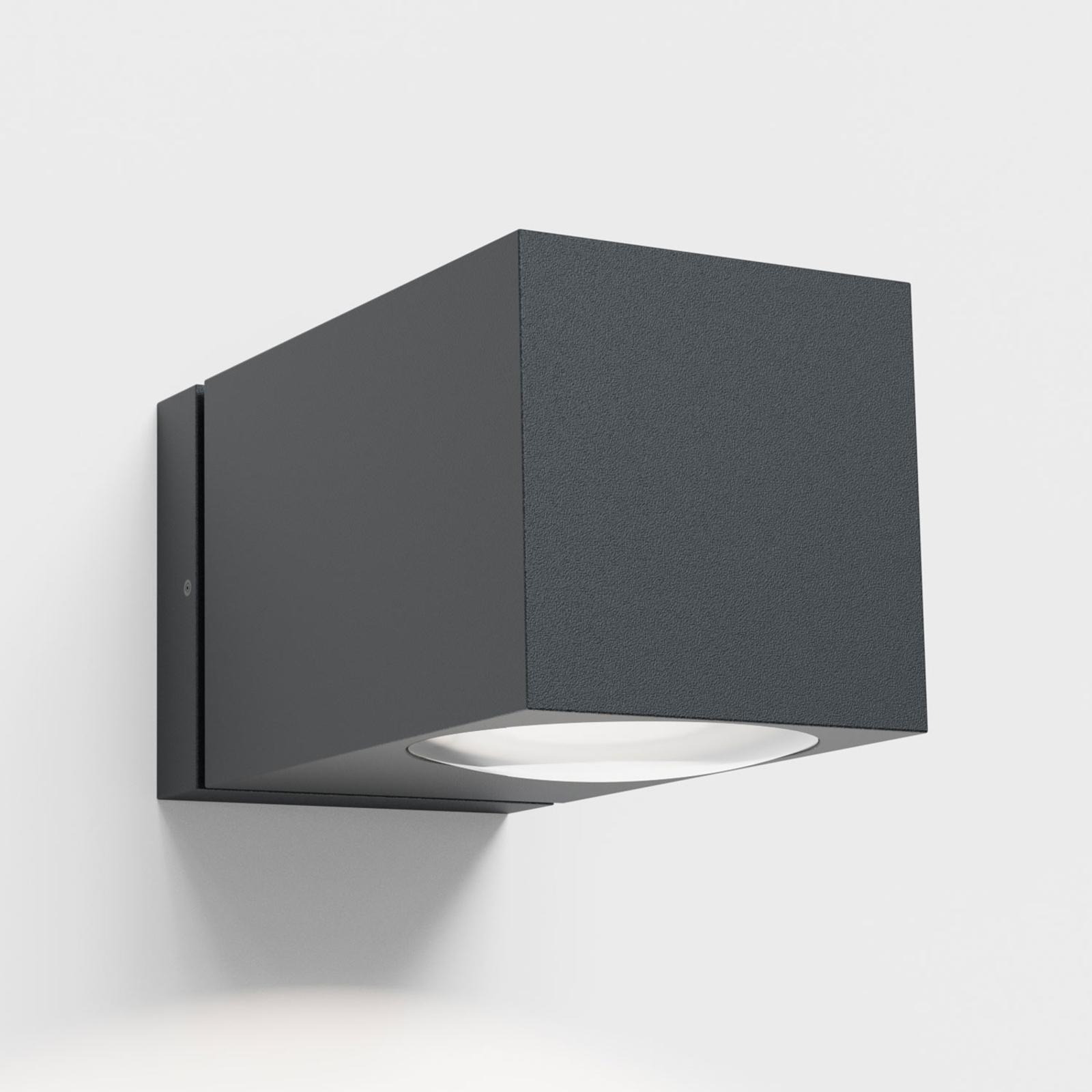 Ip44.de como down LED buitenwandlamp, antraciet