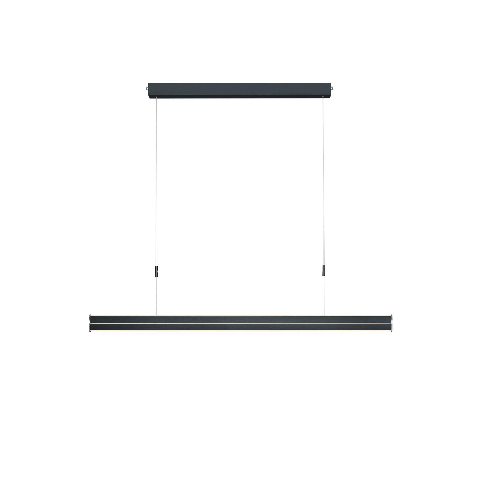 BANKAMP Pure F LED hanglamp ZigBee dimb. antraciet