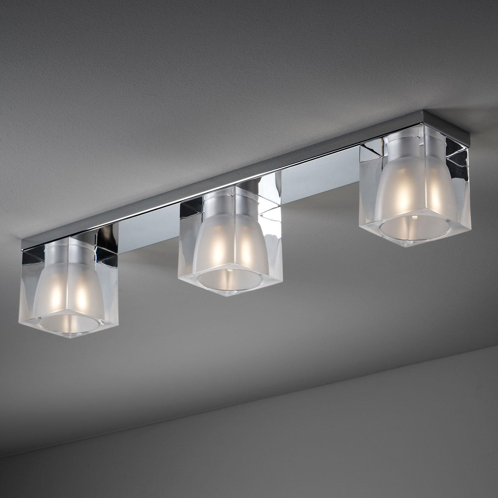 Fabbian Cubetto lampa sufitowa 3-punktowa G9