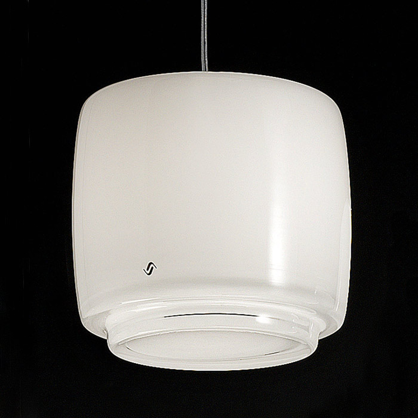 Glasshengelampe Bot, Ø 16 cm