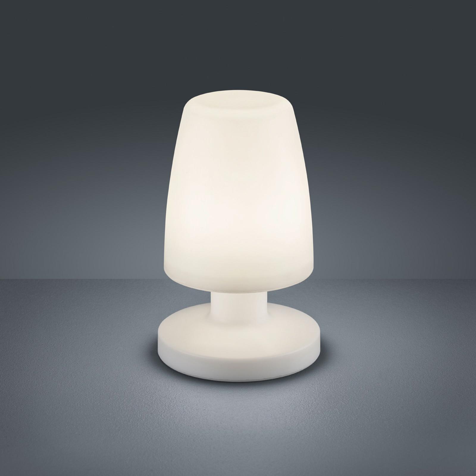 LED-bordlampe Dora, batteridrevet, til udendørs