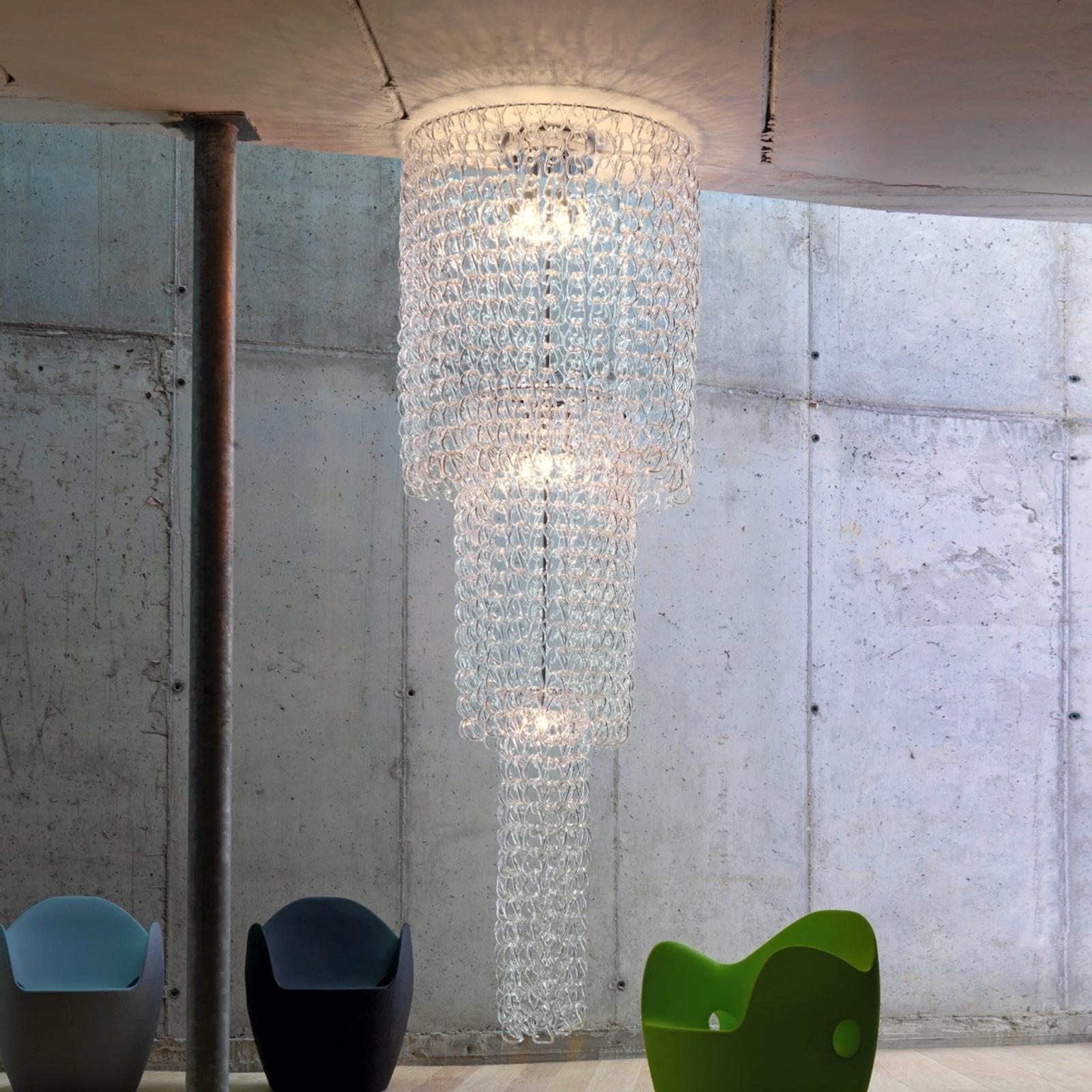 Hanglamp Giogali, hoogte 350 cm