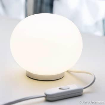 FLOS Glo-Ball Basic Zero – hvide bordlampe