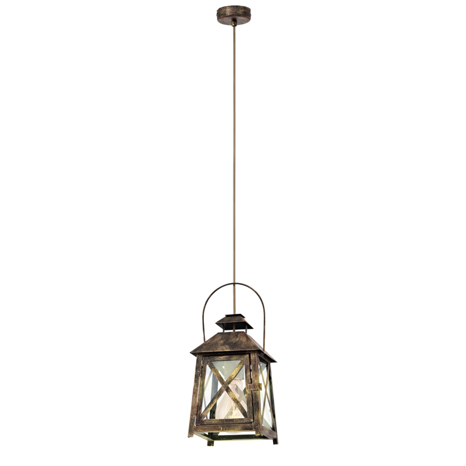 VALENA - lampa wisząca w kształcie latarenki