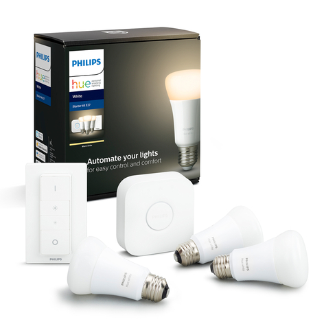 Philips Hue White Ambiance 9W E27, 3, Starter-Kit