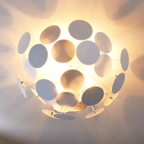 Designové stropní světlo Kinan v bílé barvě