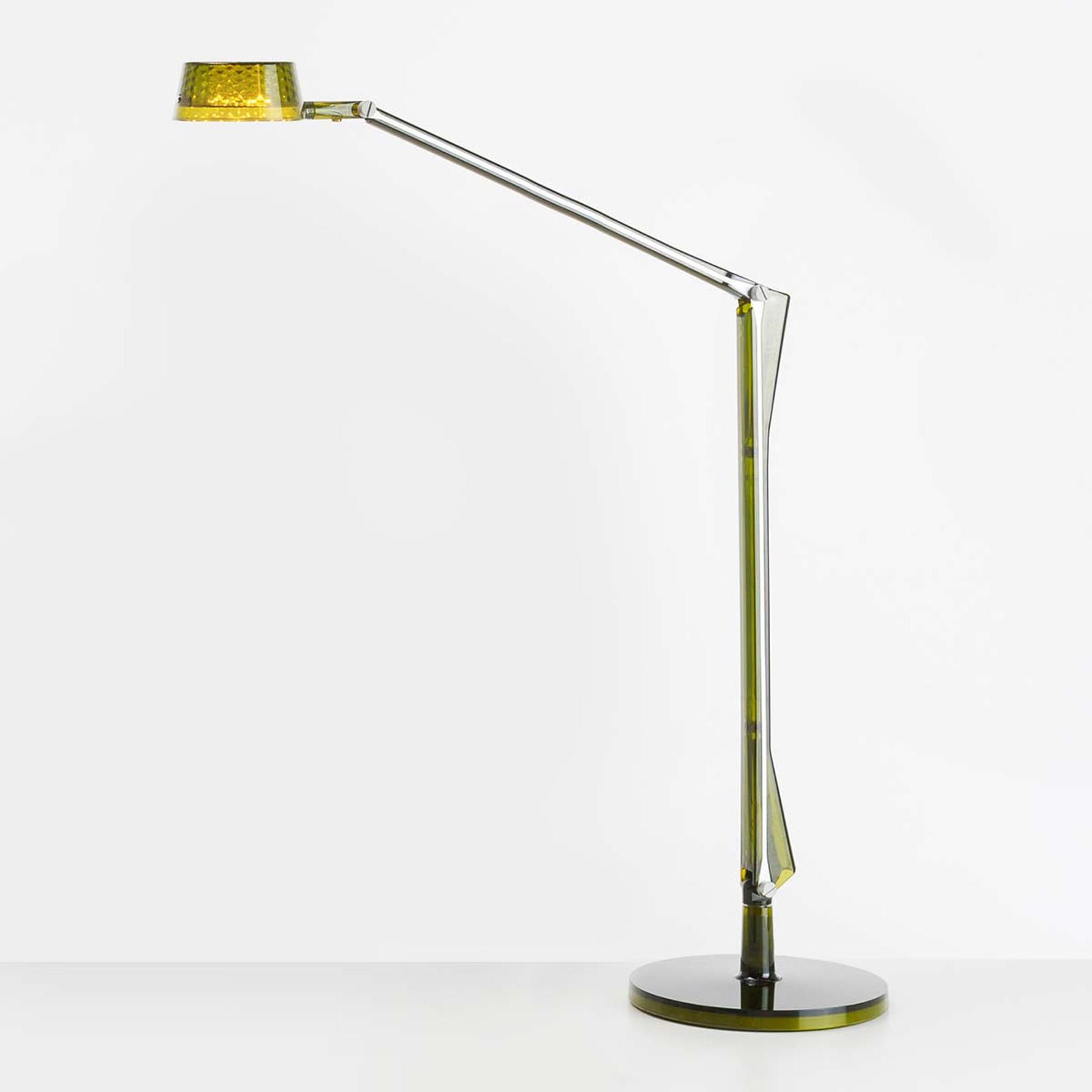 Verstelbare LED tafellamp Aledin Dec, groen