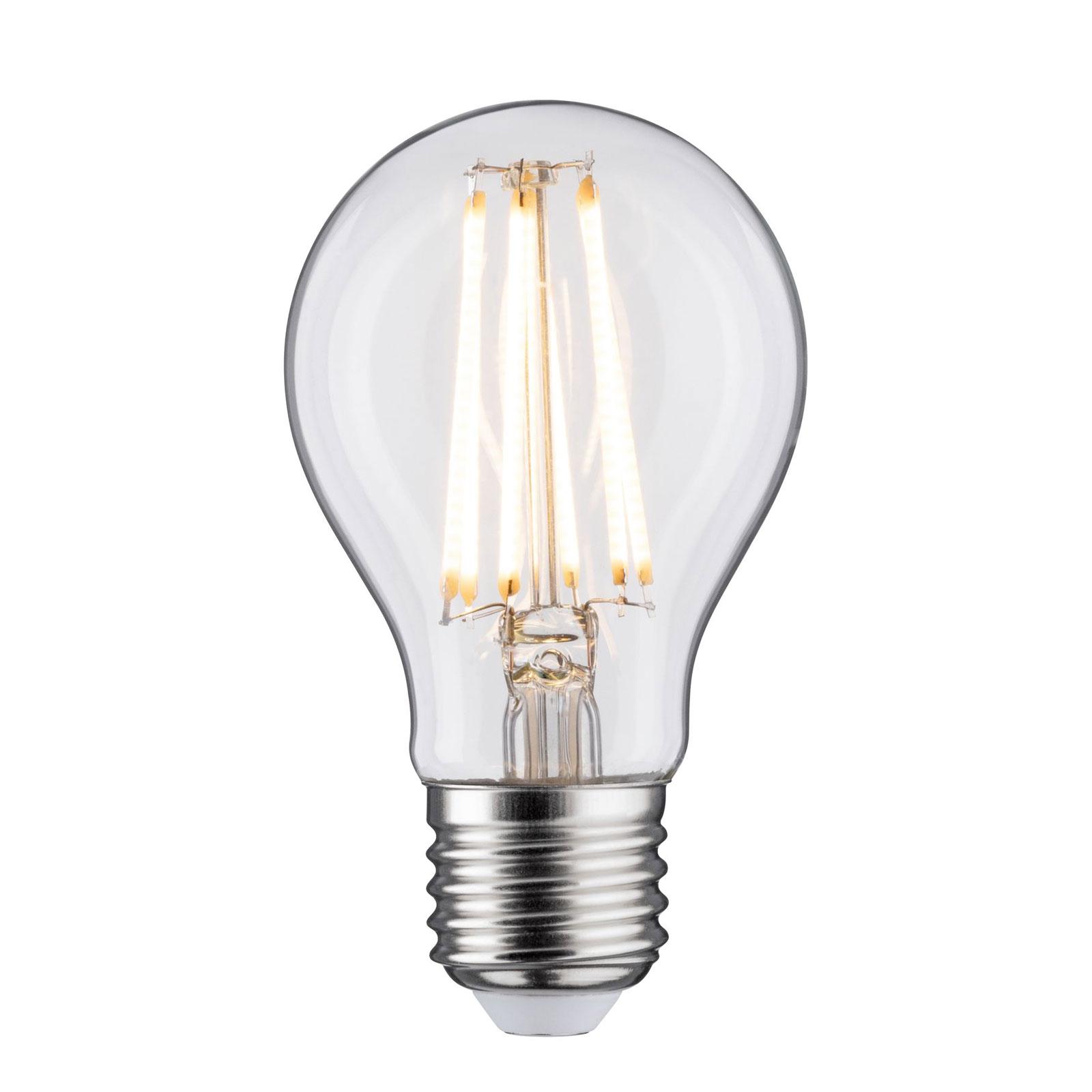 LED-pære E27 9 W Filament 2700K klar
