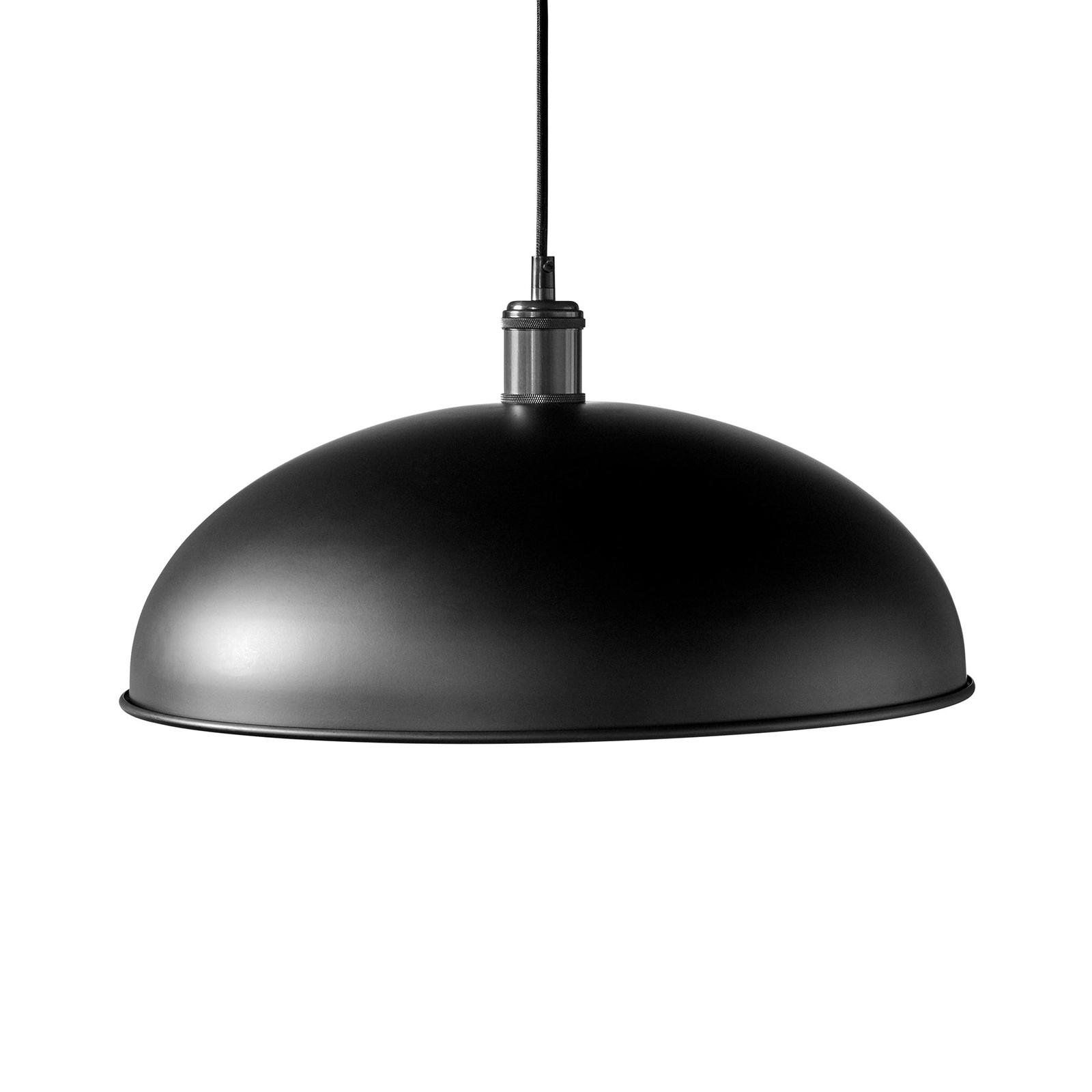 Menu Hubert pendellampa, 1 lampa, Ø 45 cm, svart