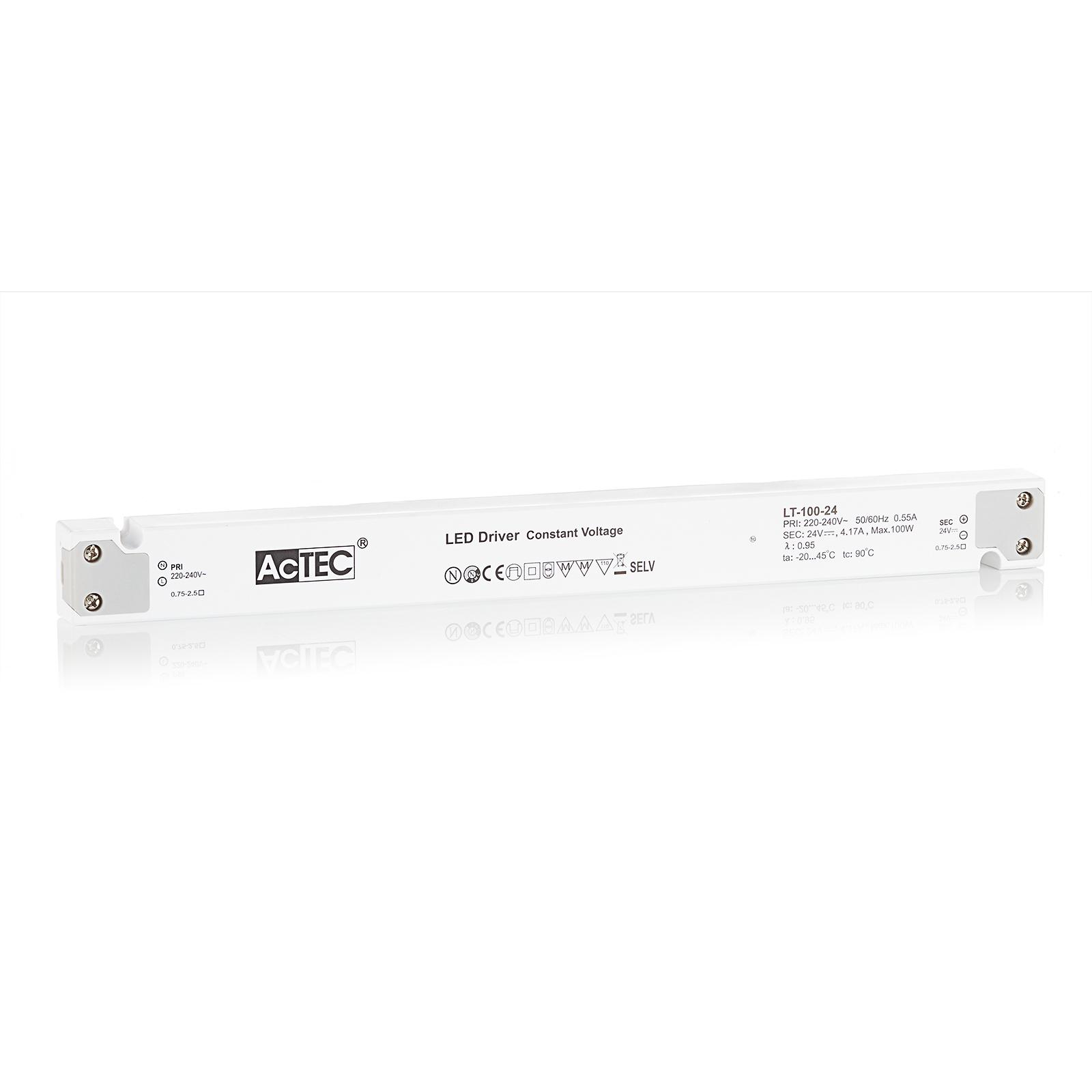 AcTEC LT LED-drivare CV 24V, 100W