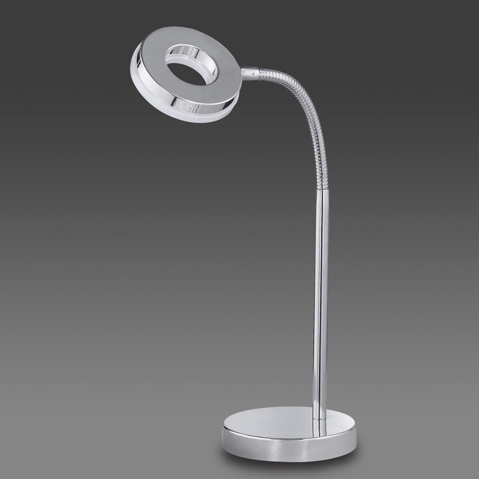 Verchroomde LED tafellamp Rennes