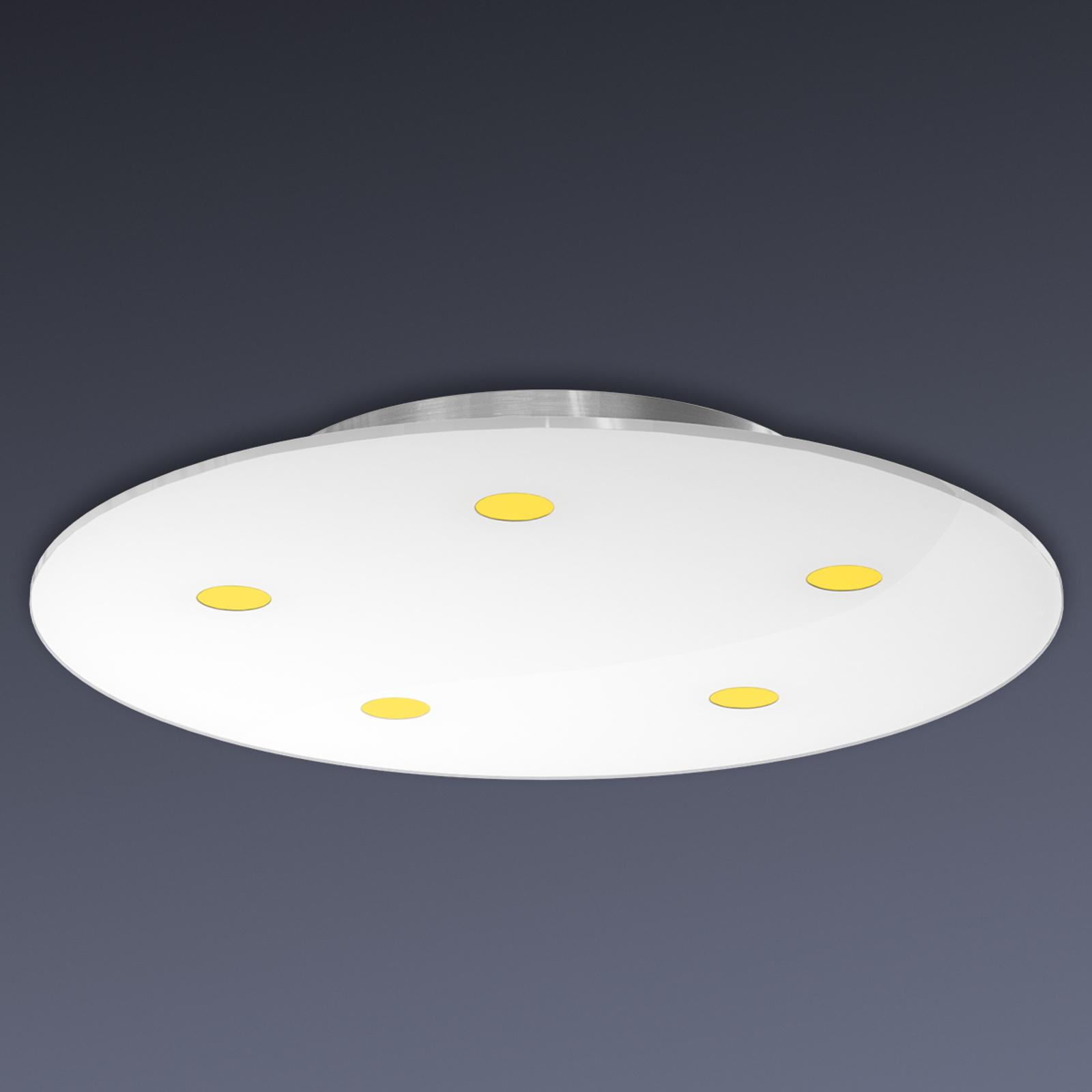Dimmbare LED-Deckenleuchte Sunia