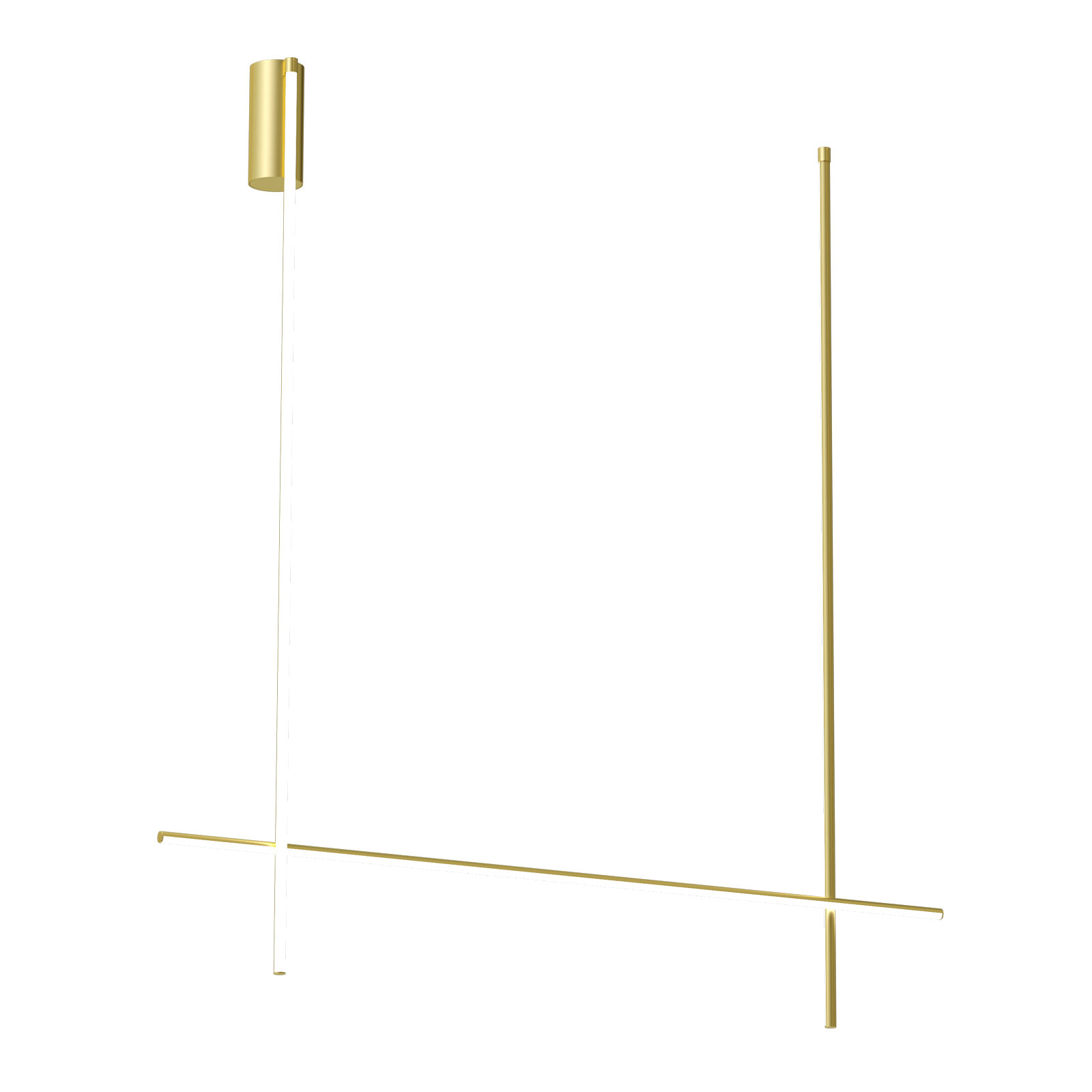 FLOS Coordinates C2 Long plafoniera LED 186 cm