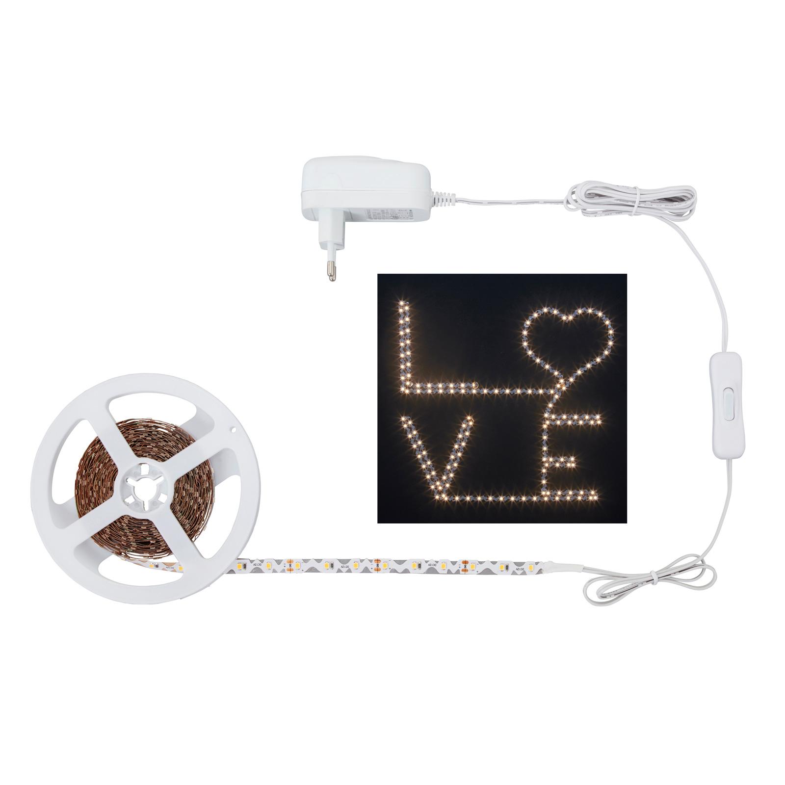 LED-bånd 2264-180 S-Shape, varmhvit
