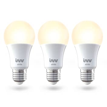 Innr LED lamp E27 9W Smart warmwit 806lm per 3