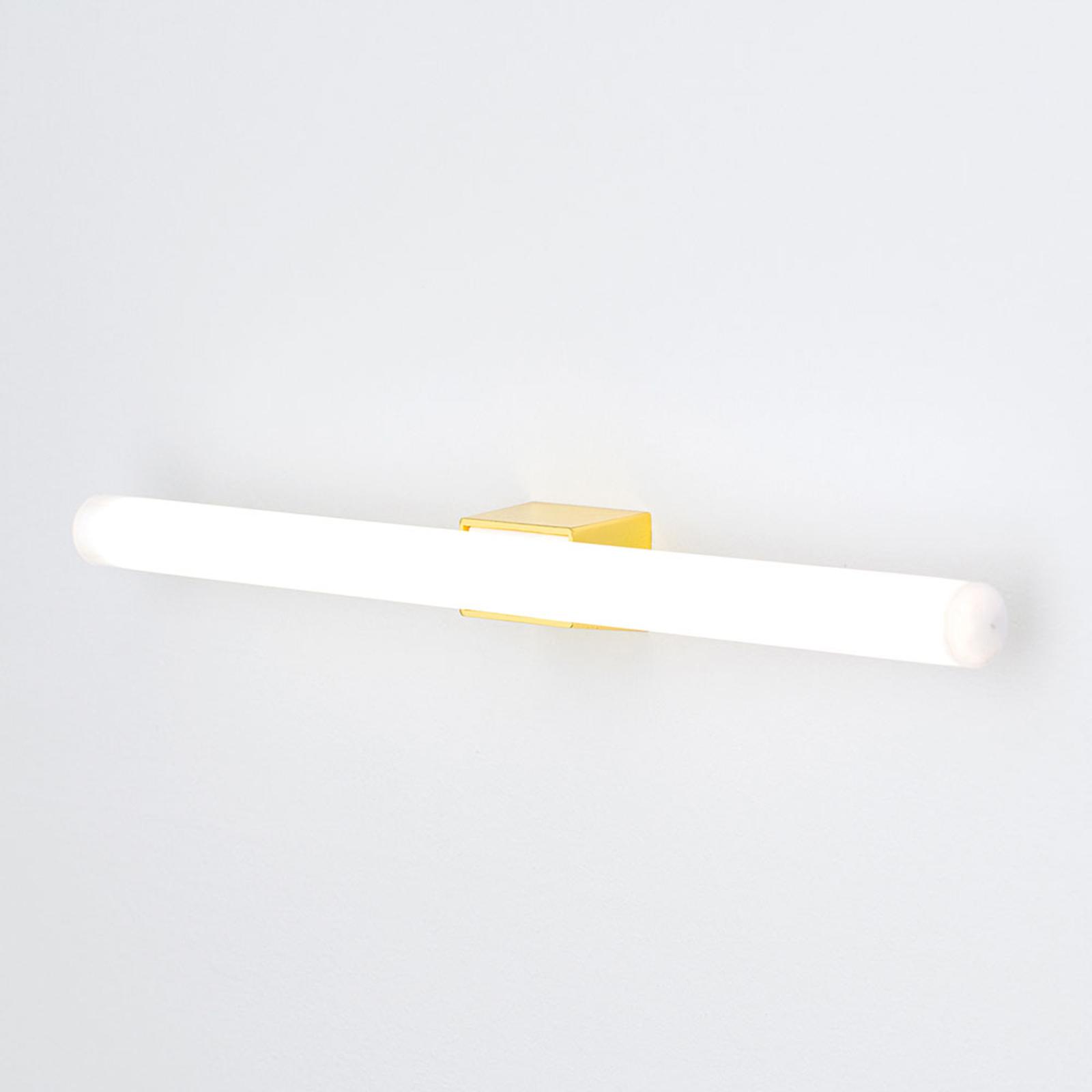 LED-spegellampa Visagist, mässingsfäste