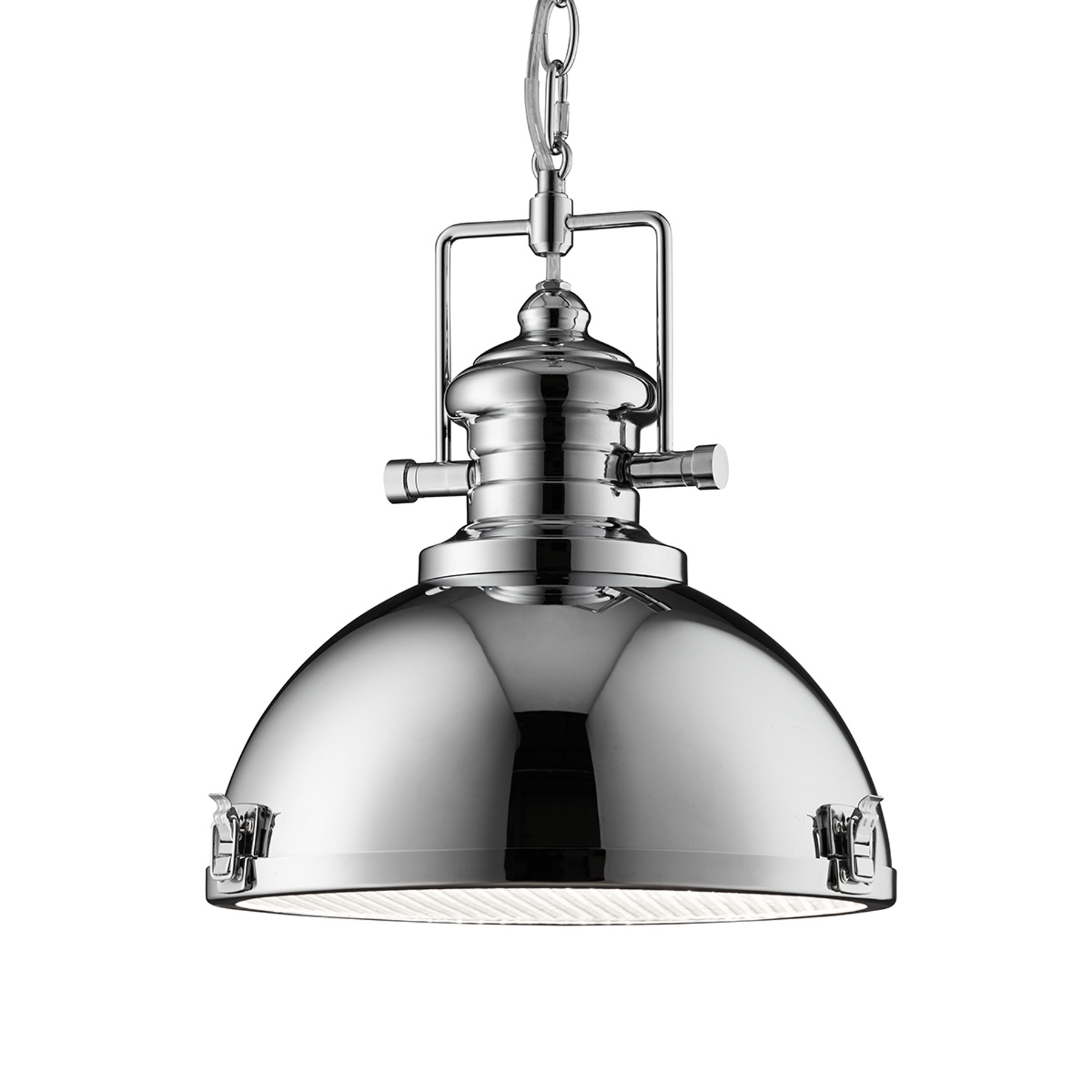 Industrieel ontworpen hanglamp Metal