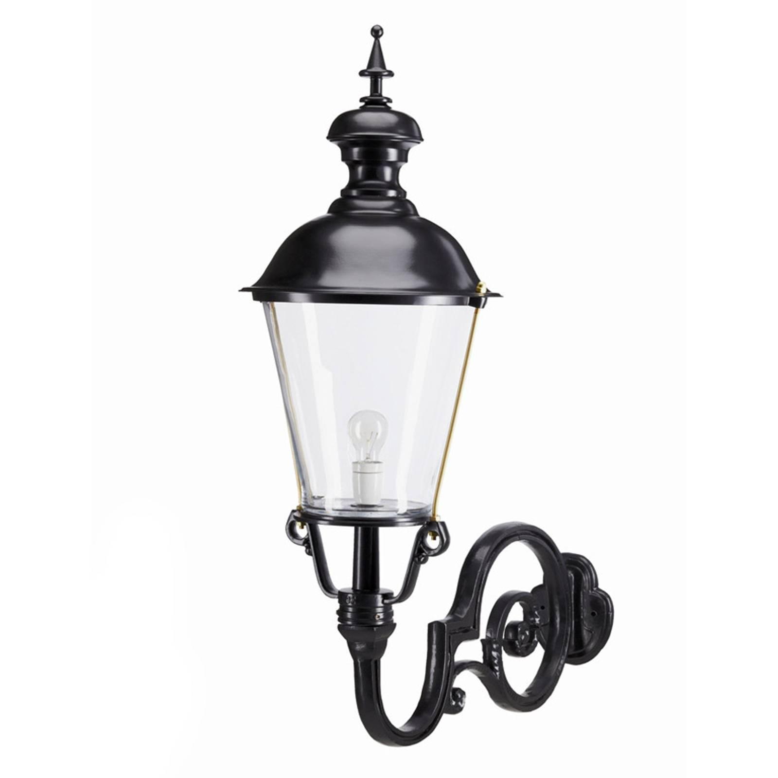 Amstel - zewnętrzna lampa ścienna, czarna