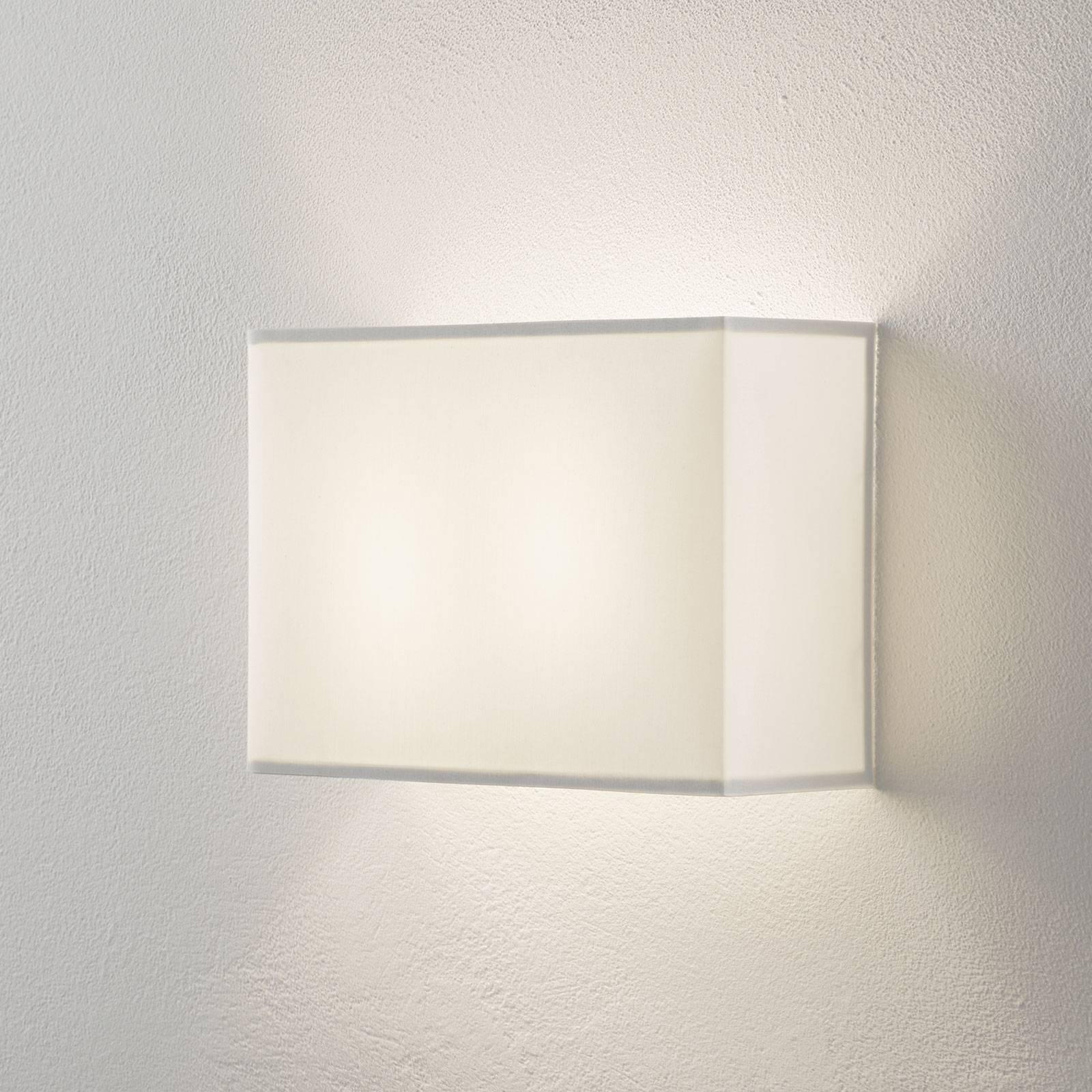 Lucande Patrik wandlamp hoekig hoogte 22cm wit
