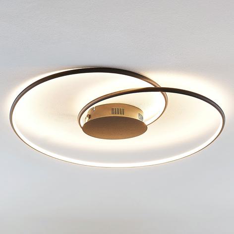 Lindby Joline LED stropní světlo, černé, 70 cm