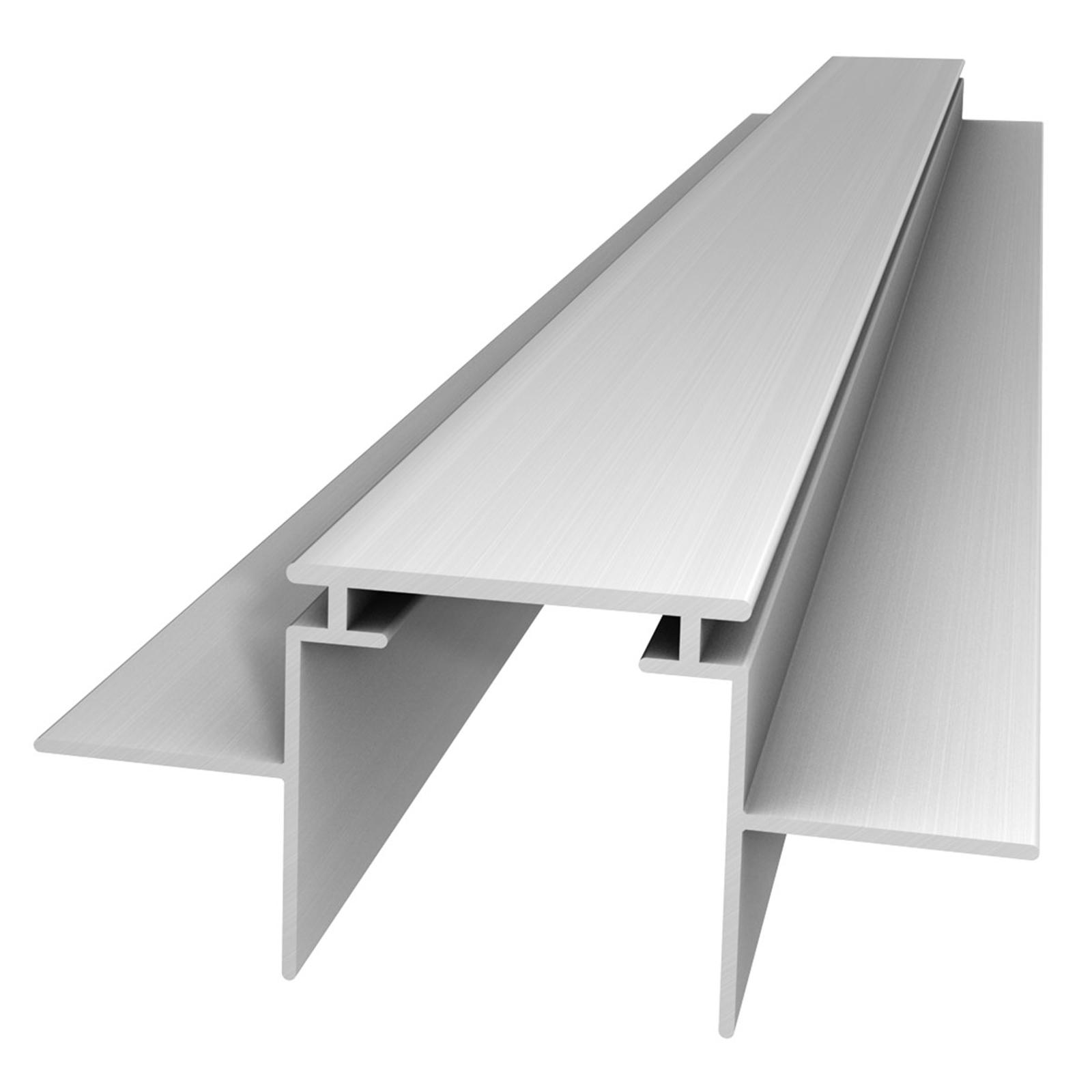 M28 LED aluminium-profil, 66 mm bred bærerprofil