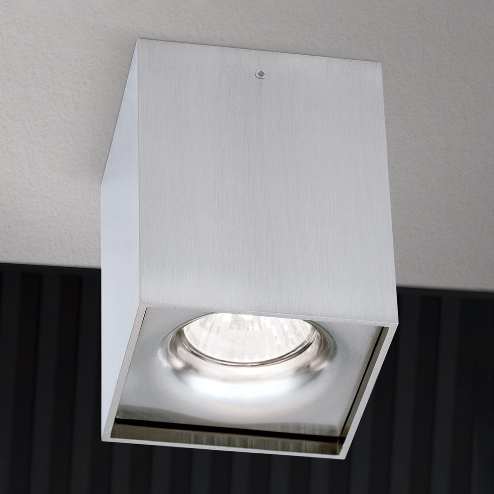 Reflektor natynkowy sufitowy Starlight nikiel mat